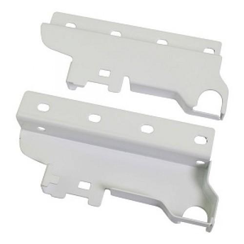 LS BOX  крепл. задней стенки пластиковое для релинга белое
