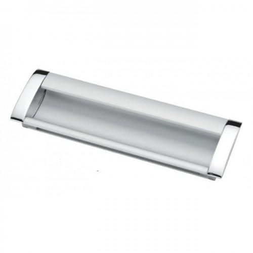 Ручка врезная Ozkardesler GOMME BOY-128 хром/матовый хром
