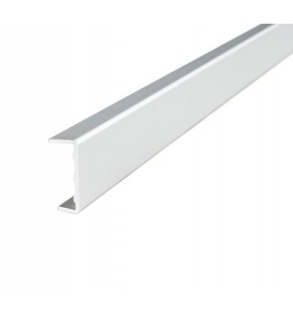 Профиль  C 18 алюм. фасадный L=3000  (внутр. разм 18,2мм) Linken System