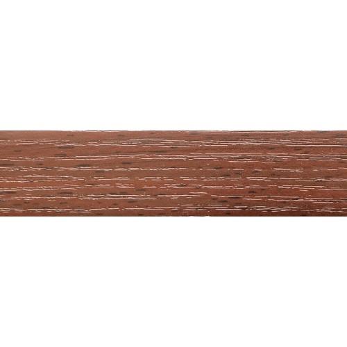 KROMAG Кромка PVC 22х0,6 Бук Тироль Шоколадный 12.04
