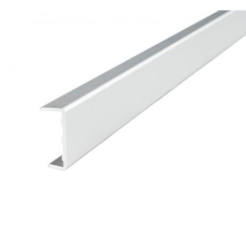 Профиль  C 17 алюминиевый фасадный L=3000  (внутр. размер 17 мм)