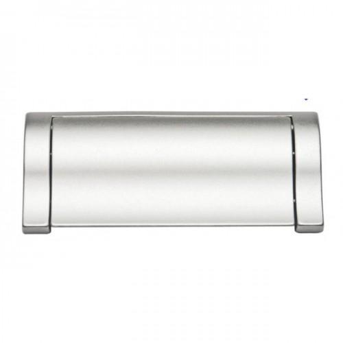 Ручка накладная Ozkardesler TOKA SALLAMALI-96 хром/матовый хром