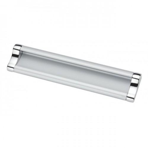 Ручка накладная Ozkardesler ERCIYES BOY-128 хром/матовый хром