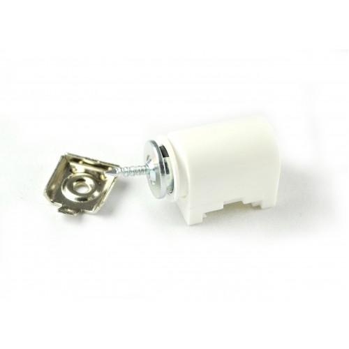 Магнитная защелка, сила сцепления 3-4 кг., белая, пластик
