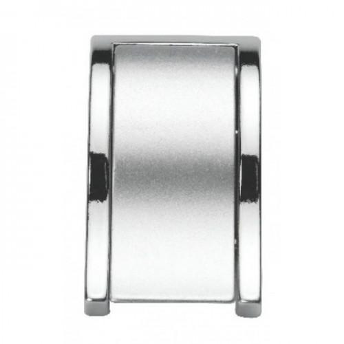Ручка кнопка Ozkardesler TOKA SALLAMALI хром/матовый хром