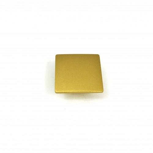 Ручка кнопка Ozkardesler DEFNE матовое золото